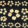 Lovely 100pcs Wwood Wooden Buttons Funny Scrapbook Craft Clothing Sewing Button
