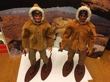 Vintage Mattel Big Jim Chief Tanuka Action Figure Lot Arctic Adventure Warpath