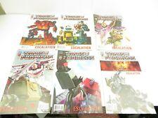 Transformers - Comics - IDW Escalation 1 - 6