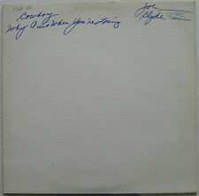 COWBOY Why Quit When You're Losing 1973 PROMO Test Pressing LP ALLMAN BROTHERS