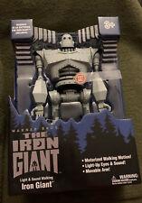 "Goldlok The Iron Giant 14"" Motorized Walking Electronic Toy Exclusive Robot"