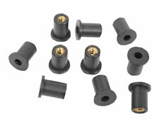 25 pieces PACK M6 Metric Rubber Well Nuts 6mm windscreen nut wellnuts