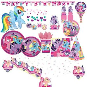 My Little Pony Party Tableware, Decorations and Balloons