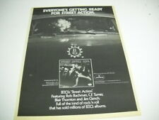 BACHMAN TURNER OVERDRIVE or BTO ...ready for STREET ACTION 1978 PROMO POSTER AD