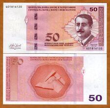 Bosnia-Herzegovina, 50 Marka, 2017 P-New, UNC > Ducic