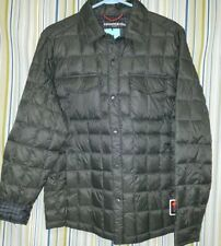 BRAND-NEW $99 Hawke & Co Pro Packable Duck Down Jacket Dark Mantis Green L Large