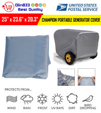 Generator Storage Cover For Champion Portable Weather-Resistant Dustproof 25""