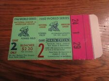1960 Pittsburgh Pirates  World Series Ticket-Mickey Mantle 2 HR Game #2