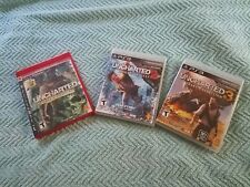 Uncharted Trilogy, PS3 games used