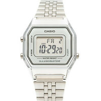 Casio Women's Silver Tone Digital Quartz Illuminator Watch LA680WA-7DF