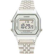 Casio Women's Silver Tone Digital Quartz Illuminator Watch LA680WA-7DF