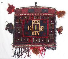 Antik Afghan Baluch nomaden Tasche teppich Torba antique nomadic rug bag Nr:106
