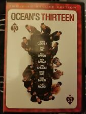 Ocean's Thirteen (2 Disc DVD Deluxe Edition)   LIKE NEW