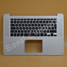 "Macbook Pro Retina A1398 15"" fines de 2013 2014 UK Top Case reposamanos y teclado"