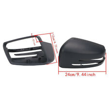 Pair Left + Right Mirror Cover Cap For Mercedes Benz W212 W204 W221 2009-2013