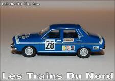 Renault R12 TL Gordini Cup éch HO 1/87 éme BREKINA SAI 2231