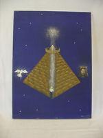 Bettina Ulitzka, Königspyramide, Ölgemälde