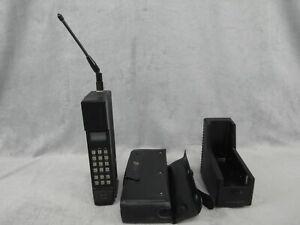 Vintage Radio Shack Portable Cellular Phone CT-301 Case Charging Base
