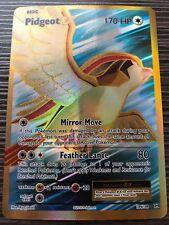 Pokemon : XY EVOLUTIONS PIDGEOT EX 104/108 FULL ART ULTRA RARE