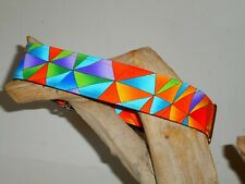 Triangular 1 1/2 Inch Custom Made Martingale Dog Collar