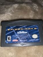 Spider-Man 2 (Nintendo Game Boy Advance, 2004) Tested Working