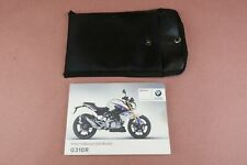 2016 2017 2018 2019 BMW G310R G310 R Owners User Manual