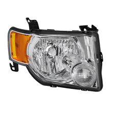 Ford 08-12 Escape Chrome Housing Replacement Headlight Passenger/ Right Side
