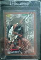 1996 TOPPS FINEST W/C #62 STEPHON MARBURY ROOKIE CARD RC TIMBERWOLVES MINT