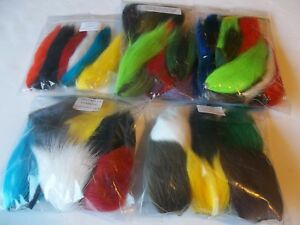 COMBO PACK  Buck tail or body, Calf tail  Squirrel tail mink  FLY TYING