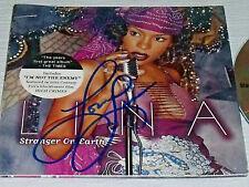 Lina Stranger on Earth CD AUTOGRAPHED Signed Promo Item Vtg 2001