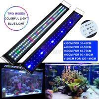 30-120cm Aquarium Full Spectrum LED Light Plant Fish Tank Lamp Natural Lighting