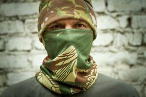 Army Scarf Face Mask Balaclava Sniper Rhodesian Brushstroke (Zimbabwe) camo