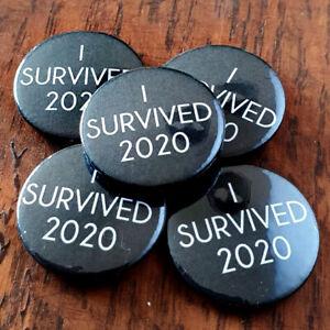 I Survived 2020 Badge Set x5 | 2020 | Pandemic | Survivor