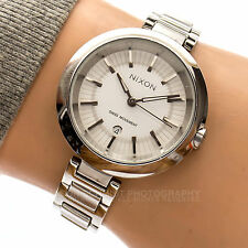NIXON THE TESSA 50m Woman's Working Stainless Date Watch 61003