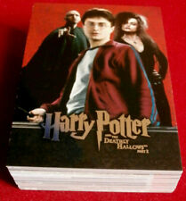 HARRY POTTER, DEATHLY HALLOWS, PART 2 - COMPLETE BASE SET, 54 cards ARTBOX 2011