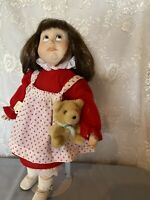 1990 Hello Dolly Signature Series Porcelain Doll Jenny By Albert E Price