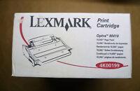 Original Lexmark Toner schwarz 4K00199 Optra M410 schwarz ca. 10.000 Seiten OVP