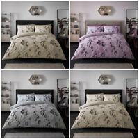 Luxury Animal Print Duvet Cover Single Double King Size Snake Skin Bedding Set