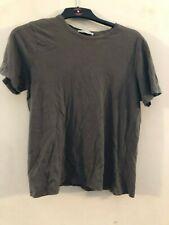 Zara khaki short sleeved top size 10 (EUR M)