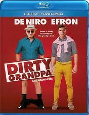 Dirty Grandpa (Blu-ray + DVD) Robert De Niro, Zac Efron NEW