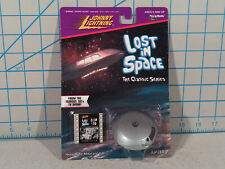 Classic Lost In Space Die-Cast Jupiter 2 With Film Clip , Johnny Lightning 1998