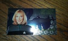 Star Trek First Contact Foil Card Dr. Beverly Crusher