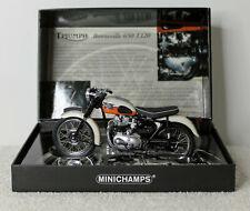 Minichamps Triumph Bonneville 650 T120 1959 Orange 1:12 Classic Bike Series