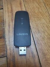 Linksys WUSB6300 Dual-Band AC1200 Wireless USB 3.0 Adapter - Black