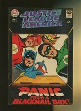 Justice League of America 62 FN 5.5 * 1 Book Lot * Panic from a Blackmail Box!