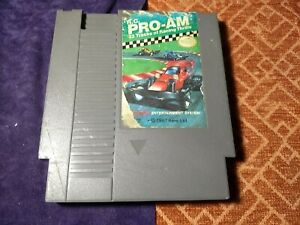 R.C. Pro-AM (Nintendo Entertainment System) game only, damaged label