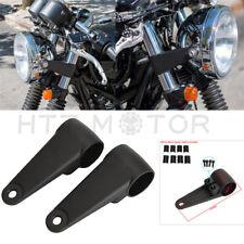 35/39/41mm Motorcycle Headlight Mount Bracket Fork Ear Aluminum For Cafe Racer