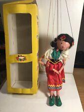 Vintage Pelham Puppets Gypsy Girl  Within Its Original Box