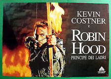 S03 Manifesto Robin Hood Principe of Ladri Kevin Costner