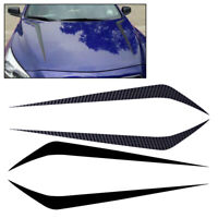 Car Racing Hood Stripe Vinyl Sticker Waterproof Decal Fit For Chevy, Ford Audi